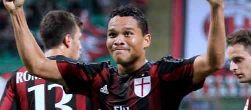 Carlos Bacca attaccante del Milan.