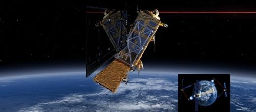 Satélite EDRS-A, de la ESO y Airbus Defence.