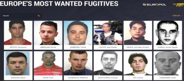 Cei mai căutați infractori din Europa