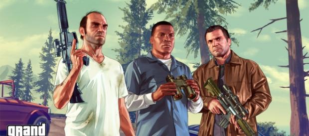 Imágen del videojuego de moda GTA V