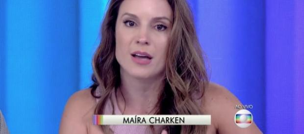 Maíra Charken vai ficar no lugar de Monica Iozzi.