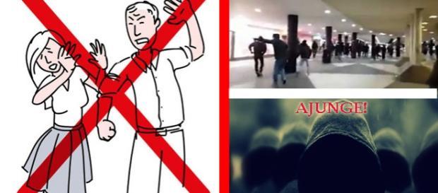 Suedezii au atacat imigranţi în gara din Stocholm