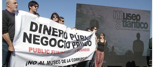 Fuente: eldiario.es. Imágenes de la protesta.