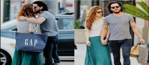 Kit Harington y Rose Leslie en L.A. Splash News