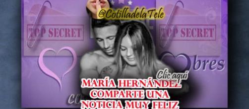 María Hernandez nos comparte una gran noticia