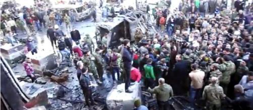 Siria: atentado en Damasco / Afpes