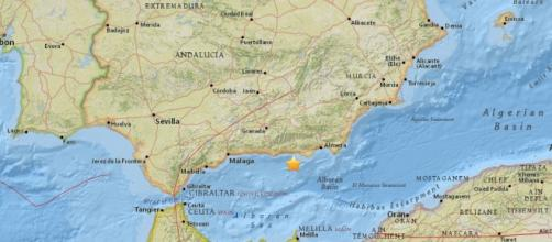 Un terremoto de 4'5 se siente en Andalucía