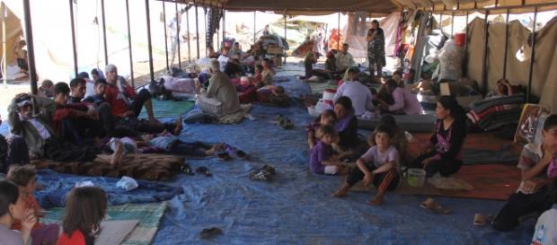 Campamento de refugiados Sirios