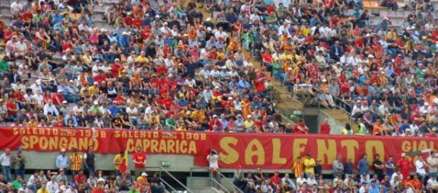 Soddisfatti i tifosi del Lecce per il pareggio.