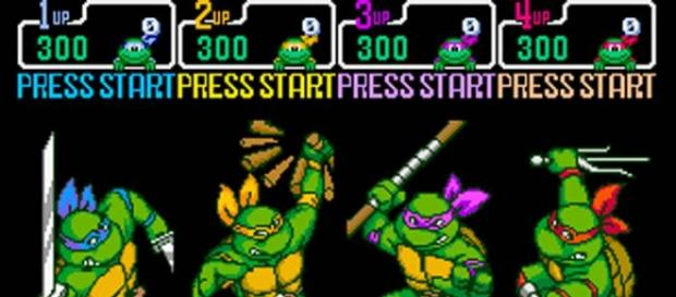TMNT Select Screen, image by Turtlepedia.wikipedia