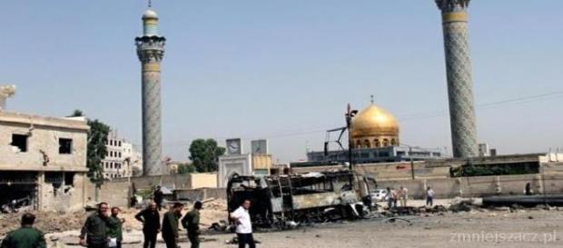 Zamach w Saida Zeinab na przedmieściach Damaszku