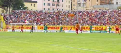 I tifosi del Catanzaro - Stadio Ceravolo