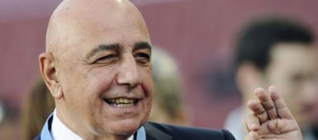 Calciomercato Milan, Adriano Galliani