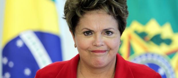 Imagem da presidente Dilma Rousseff.