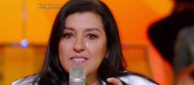 Regina Casé chora - Foto/Reprodução: Globo