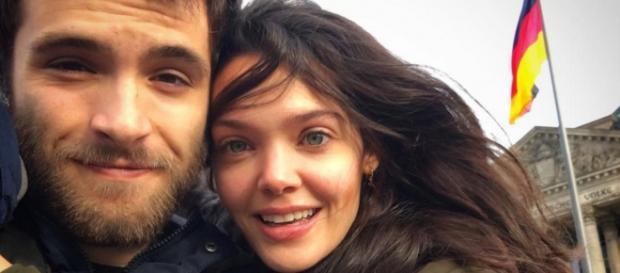 Ricardo Gómez y Ana Rujas de viaje en Berlín