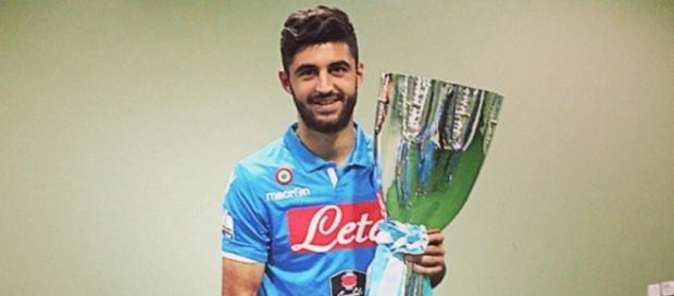 Sebastiano Luperto calciatore del Napoli.