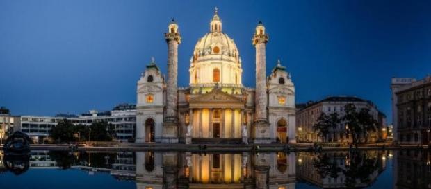 viaggi nel mondo: nella città di Vienna.