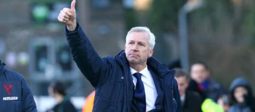 Alan Pardew, tecnico delle Eagles