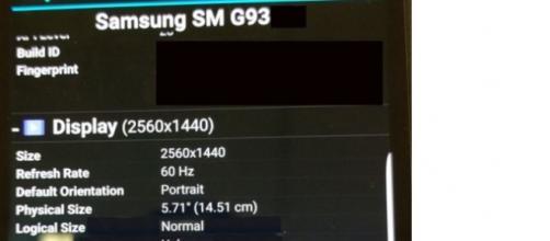 immagine caratteristiche samsung galaxy s7