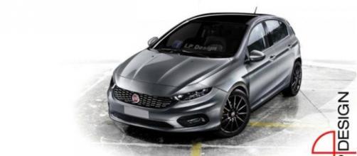 Nuova Fiat Punto 2017: render by LP Design