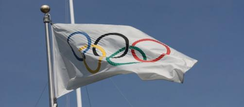 Olympic flag - Photo via Flickr by Scazon