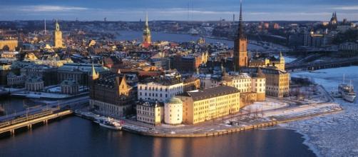 Un'immagine suggestiva di Stoccolma