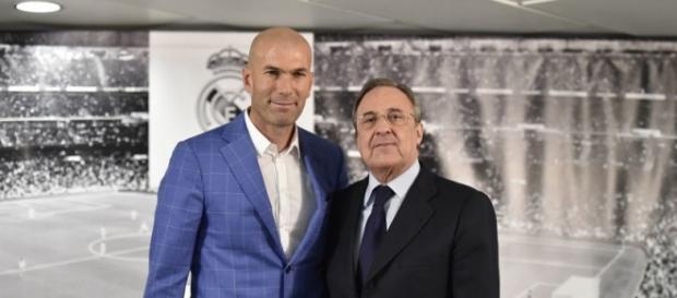 A apresentação de Zidane foi ontem (4), em Madrid.