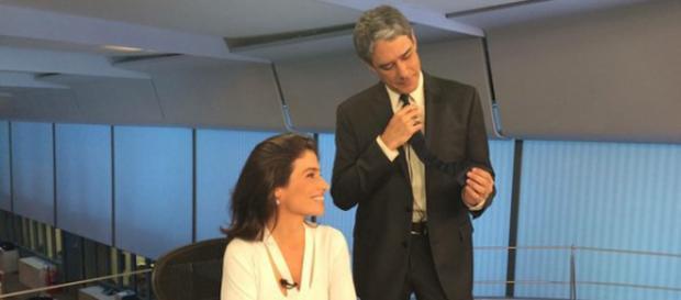 Fãs escolhem gravata que Bonner usa no JN