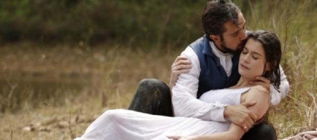 Felipe e Lívia caem de penhasco mais uma vez