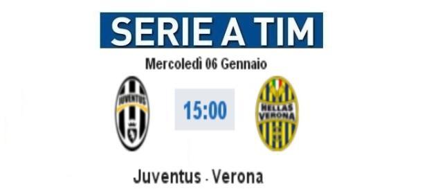 Juventus - Verona in diretta live