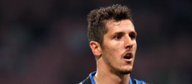 L'attaccante nerazzurro Stevan Jovetic
