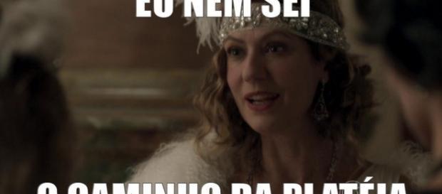 Patrícia Pillar vira meme - Imagem: Globo