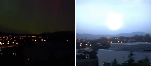 Ufo: globo luminoso a Camberra