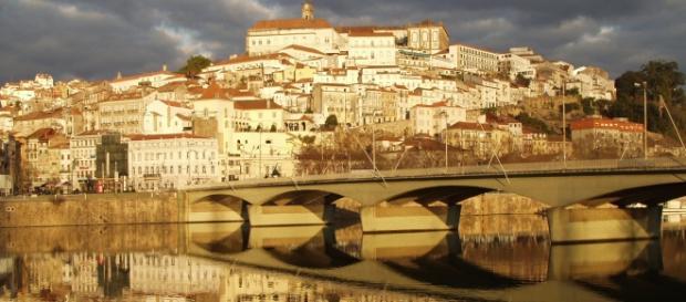 Vista da cidade de Coimbra e da Universidade