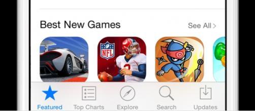 App Store da Apple em iPhone e iPad