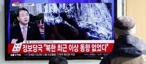 Corea del Nord, test bomba idrogeno