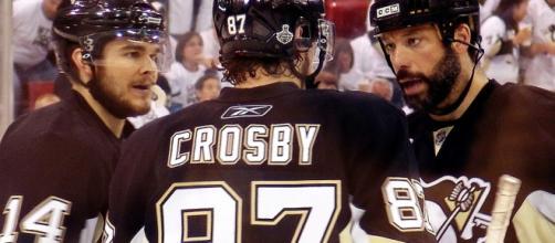 Crosby returns to form (Wikimedia)