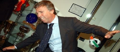 Il presidente del Genoa, Enrico Preziosi