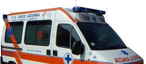 L' Ambulanza arriva senza medico a bordo