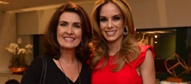 Fátima Bernardes e Ana Furtado - Imagem: Google