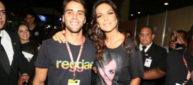 Ivete Sangalo e marido - Imagem: TV FOCO