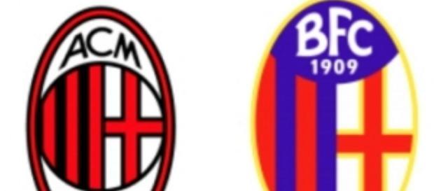 Milan Bologna per la 18a giornata di Serie A