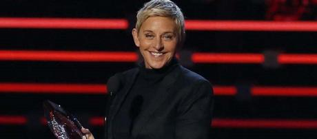 Ellen DeGeneres en los People's Choice Awards 2016