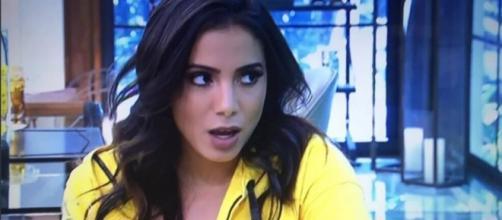Anitta leva bronca de Ana Maria (Reprodução/Globo)