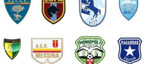 Le 18 squadre del Girone C di Lega Pro