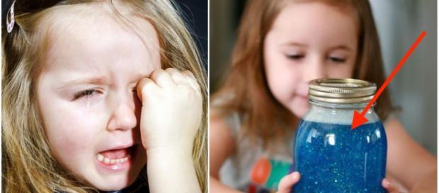 El frasco de la calma, Montessori