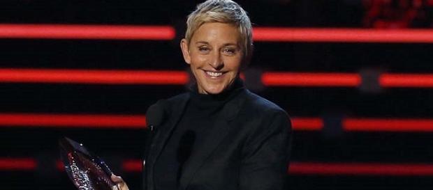 Ellen DeGeneres en los People's Choice Awards 2016