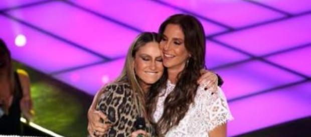 Ivete e Claudia Leitte lacraram no The Voice