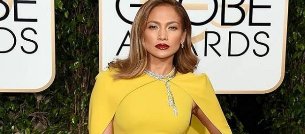 Jennifer Lopez en los Golden Globes 2016